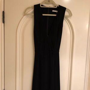 Black Alice & Olivia Black Midi Cocktail dress